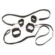 Бондажный набор bondage collection для фиксации на кровати